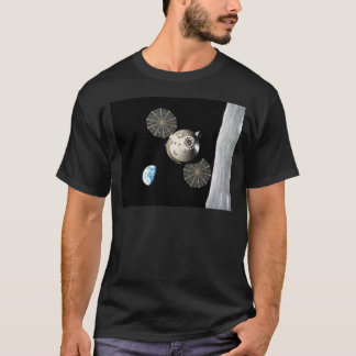 T-shirt La NASA Orion dans l'orbite lunaire