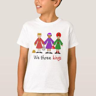 T-shirt La nativité des enfants -- Nous trois rois