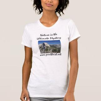 T-shirt La nature est la chemise des femmes finales de