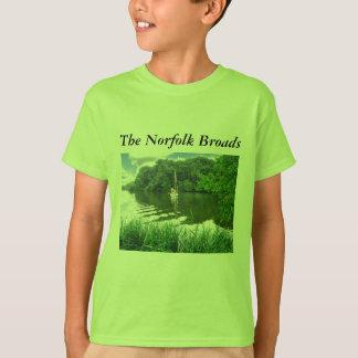 T-shirt La Norfolk Broads