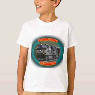 T-shirt La Norfolk et la locomotive du sud