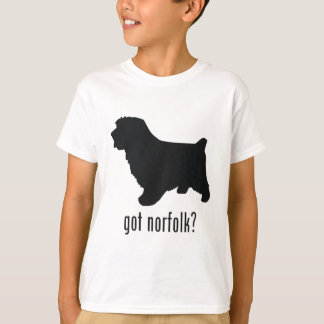 T-shirt La Norfolk Terrier