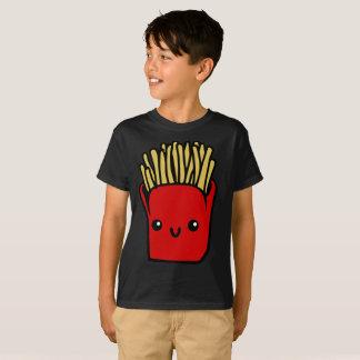 T-shirt La nourriture rouge lumineuse de sourire de pommes