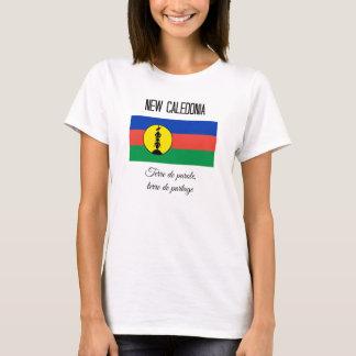 T-shirt La Nouvelle-Calédonie, le drapeau et la devise