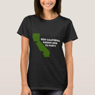 T-shirt La nouvelle Californie sait Party
