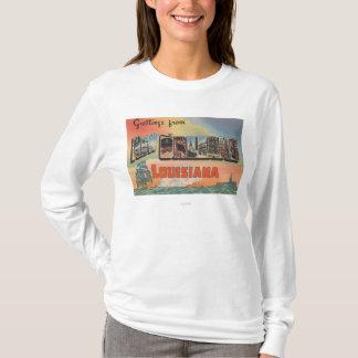 T-shirt La Nouvelle-Orléans, Louisiane - grandes scènes de