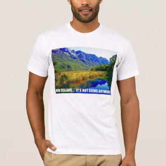 T-shirt La Nouvelle Zélande… Elle ne va pas n'importe où
