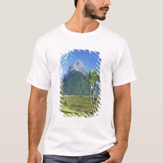 T-shirt La Nouvelle Zélande, île du sud, crête de mitre,