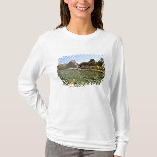 T-shirt La Nouvelle Zélande, la crête de mitre, et entrer