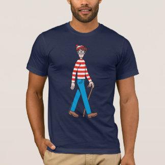 T-shirt Là où est le bâton de marche de Waldo