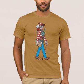 T-shirt Là où est Waldo avec tout son équipement