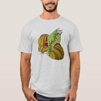 T-shirt là où faites les escargots viennent de