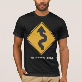 T-shirt Là où je conduis
