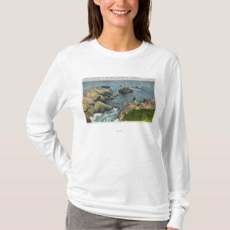 T-shirt Là où l'océan rencontre le rivage