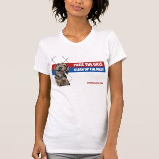 T-shirt La PA votent les projets de loi/nettoient les