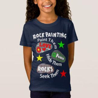 T-Shirt La paix d'amour bascule le graphique de peinture
