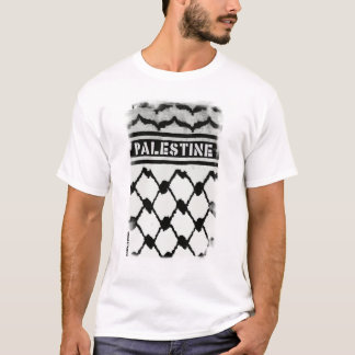 T-shirt La Palestine Keffiyah