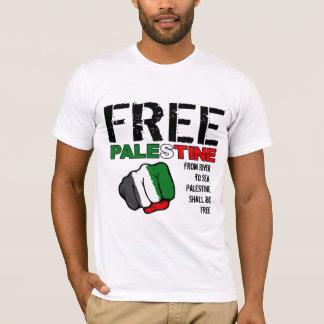 T-shirt La Palestine libre - de la rivière vers la mer