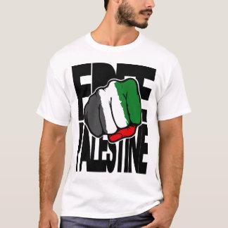 """T-shirt La Palestine libre """"poing """""""