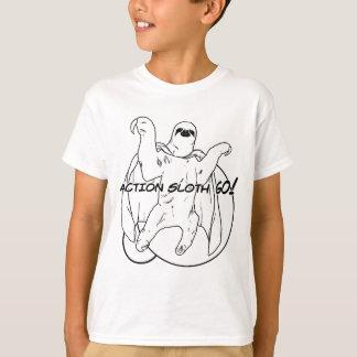 T-shirt La paresse d'action, disparaissent !