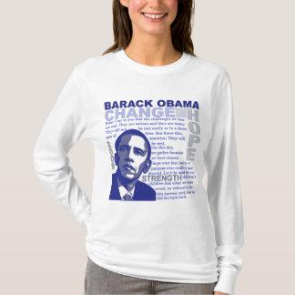 T-shirt La parole d'Obama