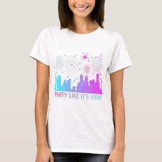 T-shirt La partie comme elle est 1999 - ville pourpre