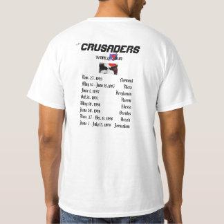 T-shirt La partie de tour du monde de croisés comme elle