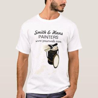 T-shirt La peinture de peintre de Chambre éclabousse le