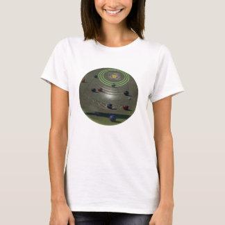 T-shirt La pelouse roule cuvette de concurrence,