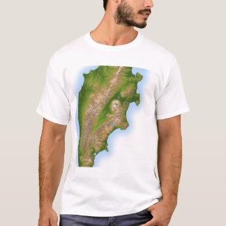 T-shirt La péninsule de Kamchatka de la Russie