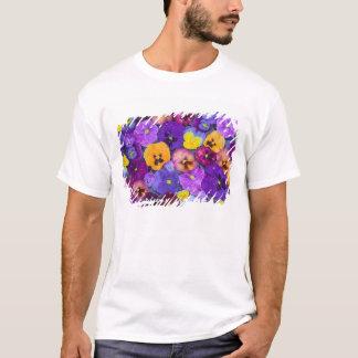 T-shirt La pensée fleurit le flottement dans le bain