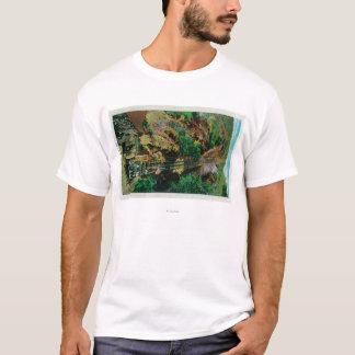 T-shirt La pente à Mt. LoweMt. Lowe, CA