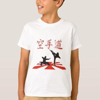 T-shirt La perspective de karaté