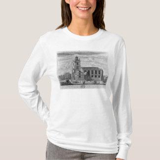 T-shirt La perspective du sud de l'église du St