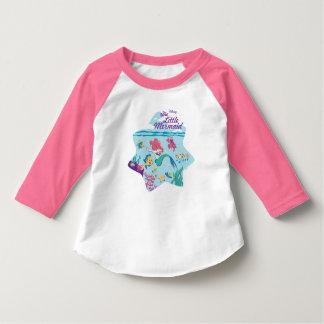 T-shirt La petits sirène et amis