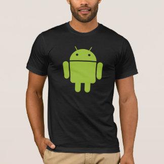 T-shirt La pièce en t adaptée des hommes androïdes