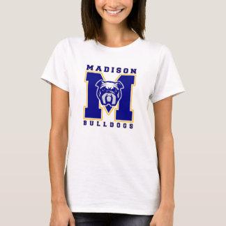T-shirt La pièce en t blanche des femmes alternatives de