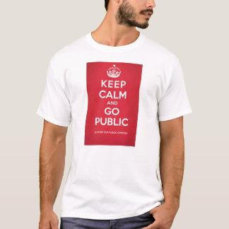 T-shirt La pièce en t blanche des hommes