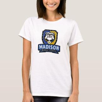 T-shirt La pièce en t blanche des nouvelles femmes