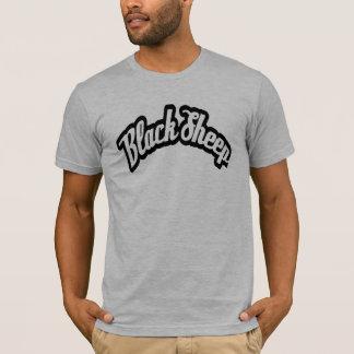 T-shirt La pièce en t classique de moutons noirs