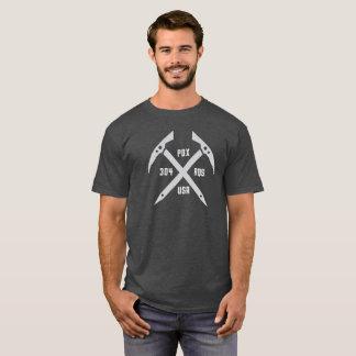 T-shirt La pièce en t de 304 de RQS de glace hommes de