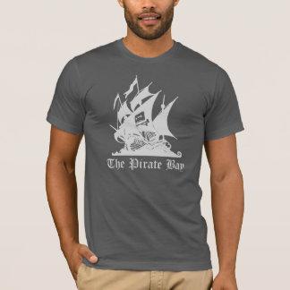 T-shirt La pièce en t de baie de pirate