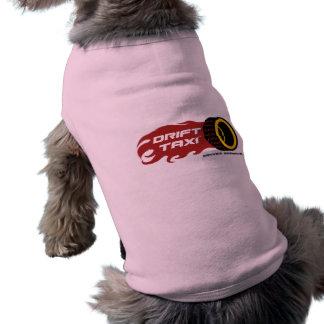 T-shirt La pièce en t de chien de taxi de dérive
