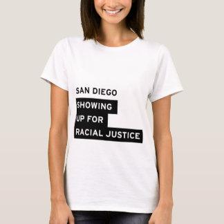 T-shirt La pièce en t de femmes blanches de SURJ San Diego