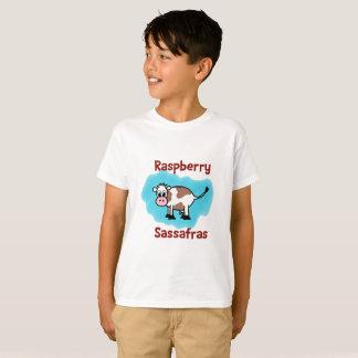 T-shirt La pièce en t de framboise de l'enfant classique