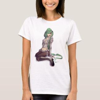 T-shirt La pièce en t de la femme de Moncale