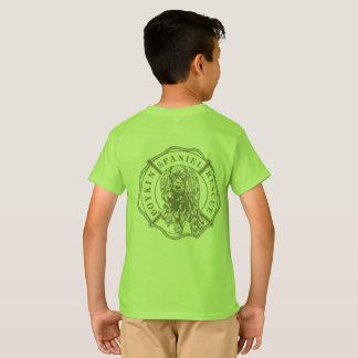T-shirt La pièce en t de l'enfant officiel de logo