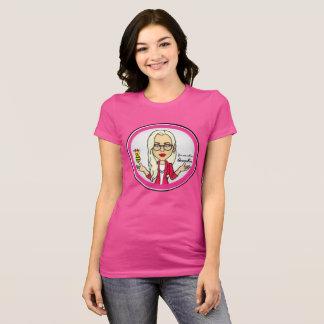 T-shirt La pièce en t de roses indien de QueenBeeing