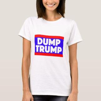 T-shirt La pièce en t des femmes d'atout de décharge