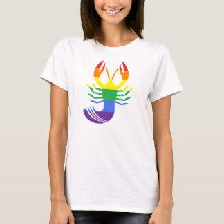 T-shirt La pièce en t des femmes d'E-jabot-lity